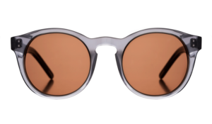 Nico Sunglasses - Grey Transparent