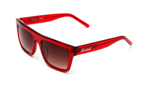 Johnny Sunglasses - Red Transparent